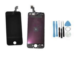 iPhone 5C Replacement LCD Touch Screen Display Digitizer Assembly Black w/Tools