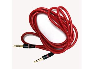 3.5mm Jack Replacement Red Cord Cable Wire for Beats By Dre Solo HD Studio