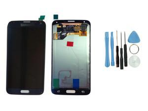 LCD Touch Screen Digitizer Replacement Assembly for Samsung Galaxy S5 Blue