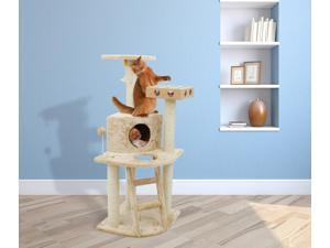 Deluxe Cat Clubhouse with Cat-IQ Busy Box