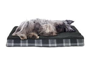 FurHaven Pet NAP Pet Bed Deluxe Egg-Crate Orthopedic Mat Pet Bed Dog Bed