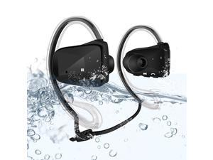 Waterproof Wireless Bluetooth 4.0 Sport In-ear Headphones - Black