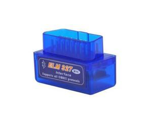 Car Diagnostic Auto Scanner Blue Mini ELM327 OBD2 V2.1 Adapter Bluetooth Tool