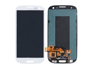 CellPhoneAGE® white Samsung Galaxy S III S3 i9300 LCD replacement Screen Digitizer w/ Smaller Screen + free repair tools
