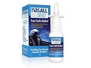 Clear Revive Allergy Sinus Relief Nasal Spray, 30mL
