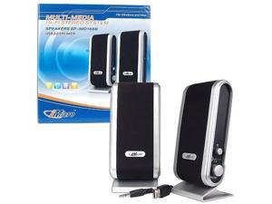iMicro SP-IMD168B 2 Channel USB Powered PC Desktop Computer Speakers