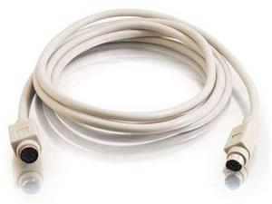 6' ft PS/2 Extension M-F Male to Female 6 Foot PS2 6-Pin by BattleBorn Cable