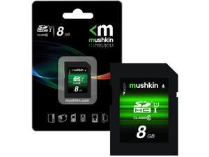 Mushkin 8GB SDHC Class 10 Flash Memory Card (MKNSDHCU1-8GB)