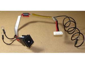 DC JACK CABLE HARNESS FOR TOSHIBA SATELLITE P305D-S8834 P305D-S8828 P305-S8842