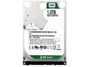 Western Digital Bare Drives 1.5TB WD Green SATA III Intellipower 8 MB Cache Bulk/OEM Mobile Hard Drive WD15NPVX