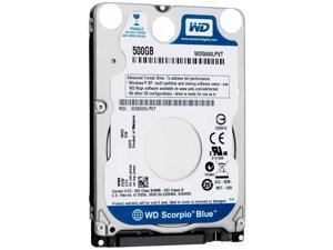 Western Digital WD Scorpio Blue WD5000LPVT 500GB SATA II Laptop Hard Drive HDD
