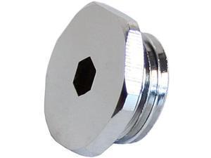 "Swiftech G1-4-SOCKET-PLUG-CHR 1/4"" Socket Plug - Chrome"