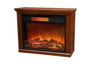 Lifesmart Products ZCFP1008US Lifezone Elec Fireplace Heater