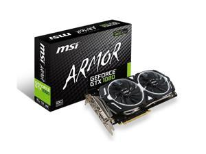 MSI Computer GeForce GTX 1080 ARMOR 8G OC Graphics Cards CARD ONLY