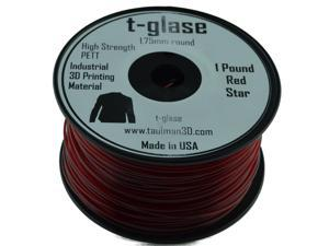1.75mm Taulman Red T-Glase 1lb (.45kg) Spool