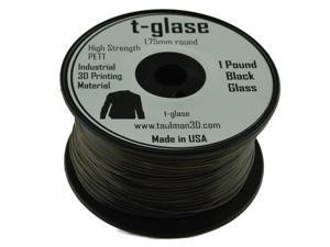 1.75mm Taulman Black T-Glase 1lb (.45kg) Spool