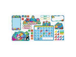 Trend Sea Buddies Calendar Bulletin Board Set