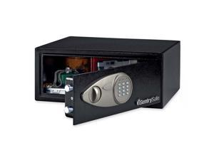 "Security Safe w/Electronic Lock 16-9/10""x14-3/5""x7-1/10"" BLK"