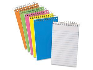 "Mini Memo Book 15lb Med Rld 3""x5"" Assorted"