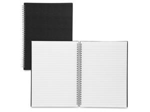 A4 Professonal Book TW Plain Rule 80Pgs Black