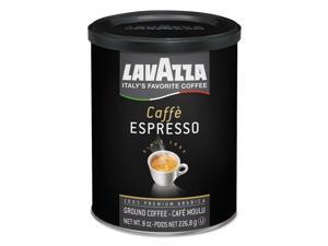 Caffe Espresso Ground Coffee Dark Roast 8 oz Can