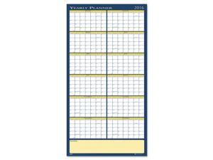 Reversible Yearly Wall Planner 60 x 26 2017