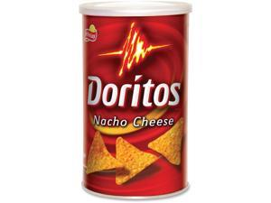 Doritos Chips Canister 3.25 oz. Nacho Cheese