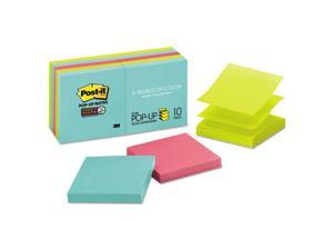 Pop-up 3 x 3 Note Refill Miami 90/Pad 10 Pads/Pack