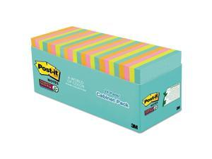 Super Sticky Pads in Miami Colors 3 x 3 Miami 70/Pad 24 Pads/Pack