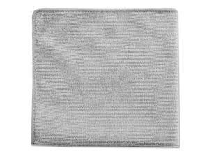 Executive Multi-Purpose Microfiber Cloths Gray 16 x 16 24/Pack