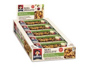 Real Medleys Fruit & Nut Multigrain Bars Apple Nut Harvest 1.34 oz Bar 10/Box