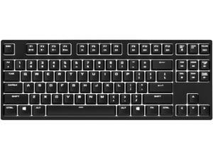 CM Storm QuickFire Rapid-i Fully Backlit Mechanical Gaming Keyboard with ActivLite Technology and Per-Key Lighting (Brown Switch Model)