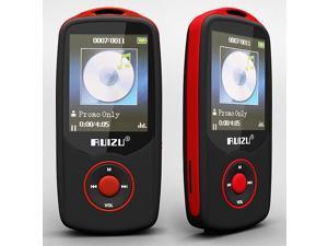 Ruizu x06 hifi Lossless Music player FM flac bluetooth  4GB original RED