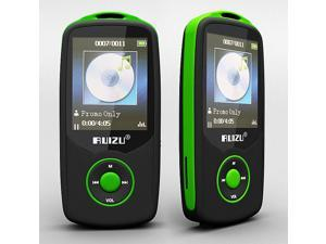 Ruizu x06 hifi Lossless Music player FM flac bluetooth 4GB original GREEN