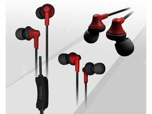 phrodi pod-m201  Dynamic Driver System 3.5mm Stereo Earbuds with Built-In Mic  pro bass quality