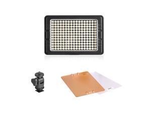 PT-C-160S 160PCS LED Video Light Dimmablefor Canon Nikon Pentax Panasonic SONY DSLR