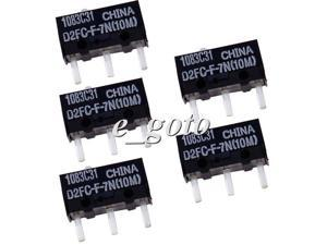 5pcs OMRON D2FC-F-7N(10M) Micro Switch Microswitch for Mouse good