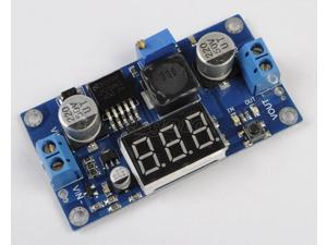 LM2596 Step Down Power Module LED Display 4.2V-40V to 1.25V-37V DC-DC Converter
