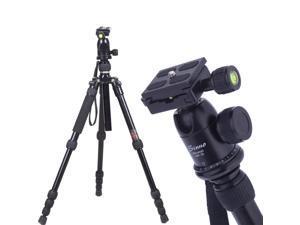 Sinno M-2522Z Pro SLR Camera Tripod Portable Adjustable Monopod with Ball Head
