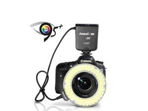 NEW Amaran Halo HC100 CRI 95+ LED Macro Ring Flash Light for Canon DSLR Camera