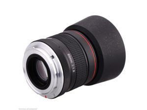 Pro Kelda 85mm f/1.8 Manual Focus Portrait Lens for Canon EOS DSLR Camera NEW