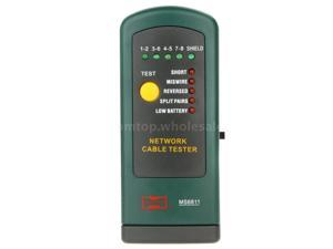 MASTECH MS6811 Network Cable Tester Line Tracker 10Base-T T568A T568B Token Ring