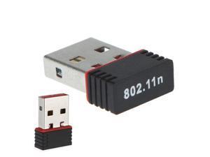 Mini USB Wireless Adapter 802.11n WiFi Network Card 150M