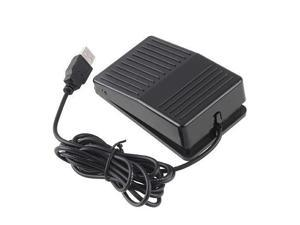 USB Foot Switch Keyboard Fast Control Pedal HID for Computer Game Desktop Laptop