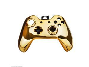 Gamepad Controller Housing Shell w/ Buttons for XBOX ONE DualShock Handle Gold
