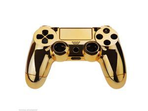 Gamepad Controller Housing Shell w/Buttons for Playstation4/PS4 DualShock 4 Gold