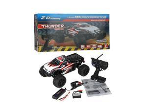 ZD Racing 9106 2.4G Brushless 1/10 Scale 4WD RC Monster Truck w/3CH Transmitter