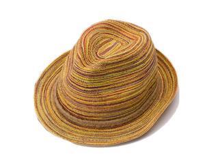 Foxnovo Women's Girls Wide Brim Bowknot Summer Beach Sun Visor Straw Hat Cap