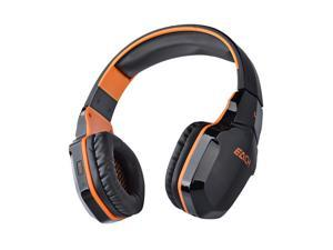 Foxnovo   B3505 Wireless NFC Bluetooth Stereo Gaming Headphone Headset with Mic for iPhone /iPad /Samsung /HTC /Cellphones /Tablets /PC /MP3 (Black+Orange)