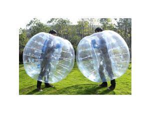 Foxnovo 1.5M Inflatable Bumper Ball Body Zorbing Ball Zorb Bubble Soccer / Football (Random Color)